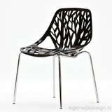 Retro stoel Forest chair wit_