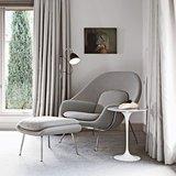 Tulip side table:  Bijzettafel van Saarinen Wit_