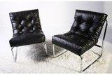 Design fauteuil Relax, Zwart._
