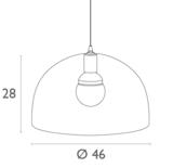 Hanglamp Dodo Zwart_
