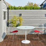 Saarinen Tulip Tafel 90 cm outdoor - wit_