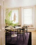 Saarinen Tulip tafel 199 x 121cm Carrara marmer_