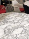 Ronde Tulip tafel Statuario marmer 120 cm_