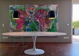 Saarinen Tulip tafel 235x121 marmeren blad