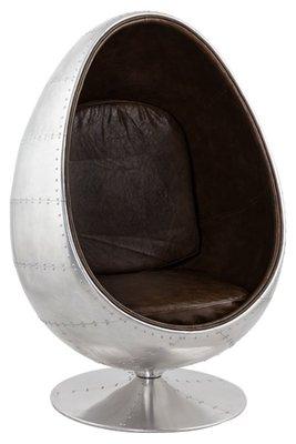 Aluminium Eggchair Retro