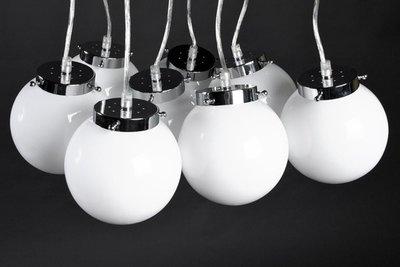 Design hanglamp 8 bollen