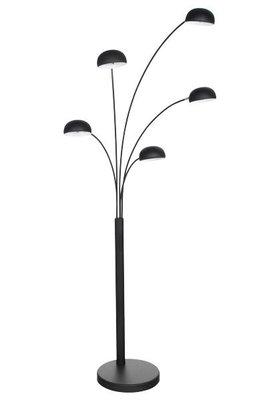 Design vloerlamp, Zwart