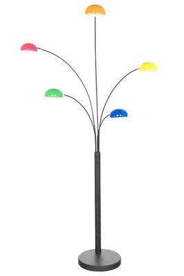 Design vloerlamp, multi colour