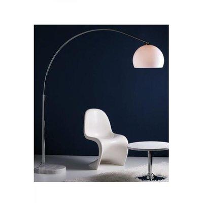 Design vloerlamp Lungo, Wit