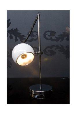 Design tafellamp rond, Wit