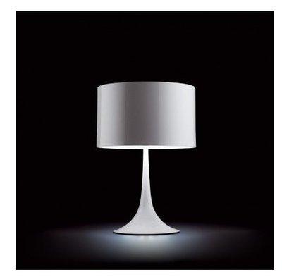 Tulip design tafellamp wit