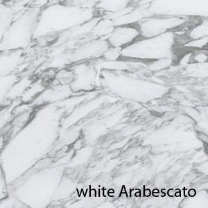 Saarinen Tulip tafel 137cm Arabescato marmeren blad