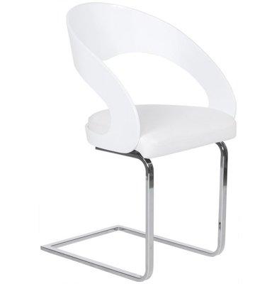 Luxe Slede stoel Bianca - wit