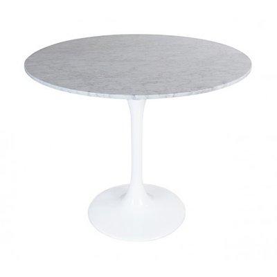Marmeren Tulip tafel, rond 90 cm