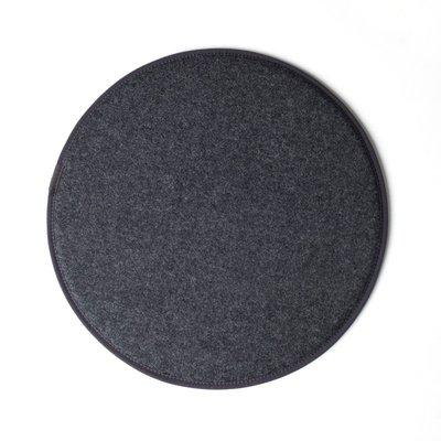 Kubikoff rond zitkussen - donker grijs