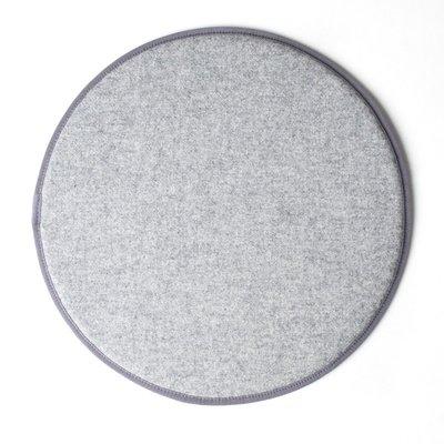 Kubikoff rond zitkussen - licht grijs