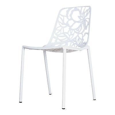 Cast Magnolia chair wit