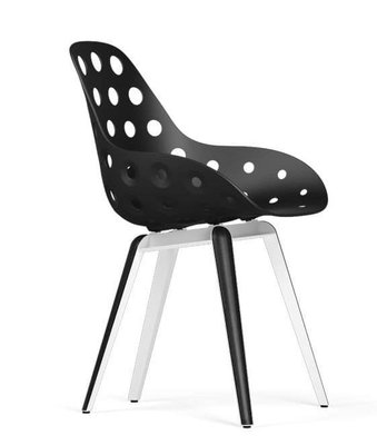 Afgeprijsd: Kubikoff dimple Slice chair zwart