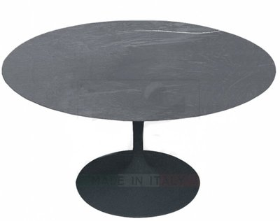 Outdoor Tulip tafel stone Antraciet