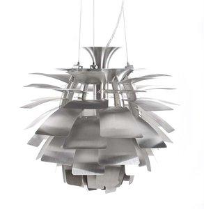 Artichoke hanglamp zilver