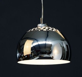 Design hanglamp half rond