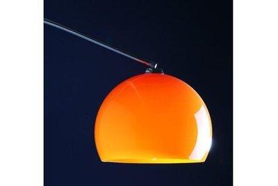 Design vloerlamp bol, Oranje