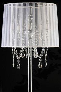 Design vloerlamp staande kroonluchter, Wit