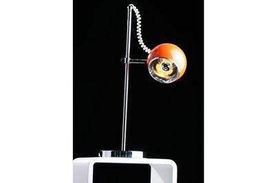 Design tafellamp rond, Oranje