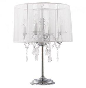 Design tafellamp staande kroonluchter, Wit