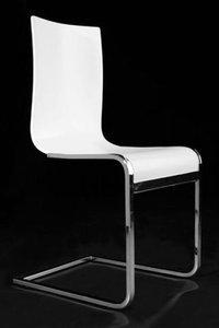 Design stoel Legno, Wit