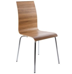Design stoel aperto, Walnoot