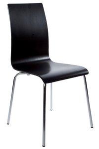 Design stoel Casa, Zwart
