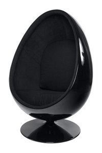 Design Cocoon chair Zwart
