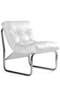 Design fauteuil Relax, Wit
