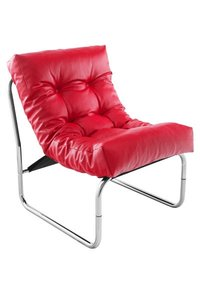 Design fauteuil Relax, Rood.