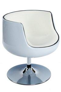 Design fauteuil Cuba Wit