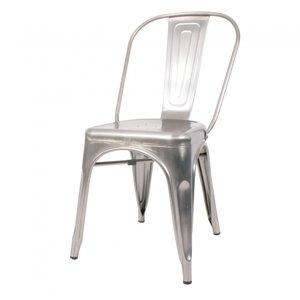Afgeprijsd: Cafe Retro RVS stoel