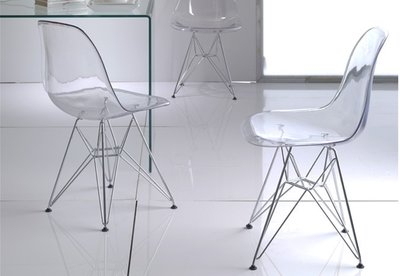 DSR design eetkamerstoel Crystal