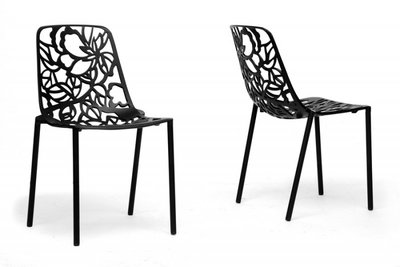 Cast Magnolia chair zwart