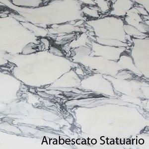 Saarinen Tulip tafel 137cm Statuary Arabescato marmer