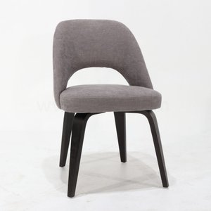 Saarinen Executive Chair black wooden base XL