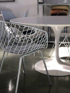 Wire Armchair - terras stoel wit