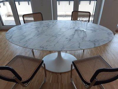 Statuario marmeren Tulip tafel